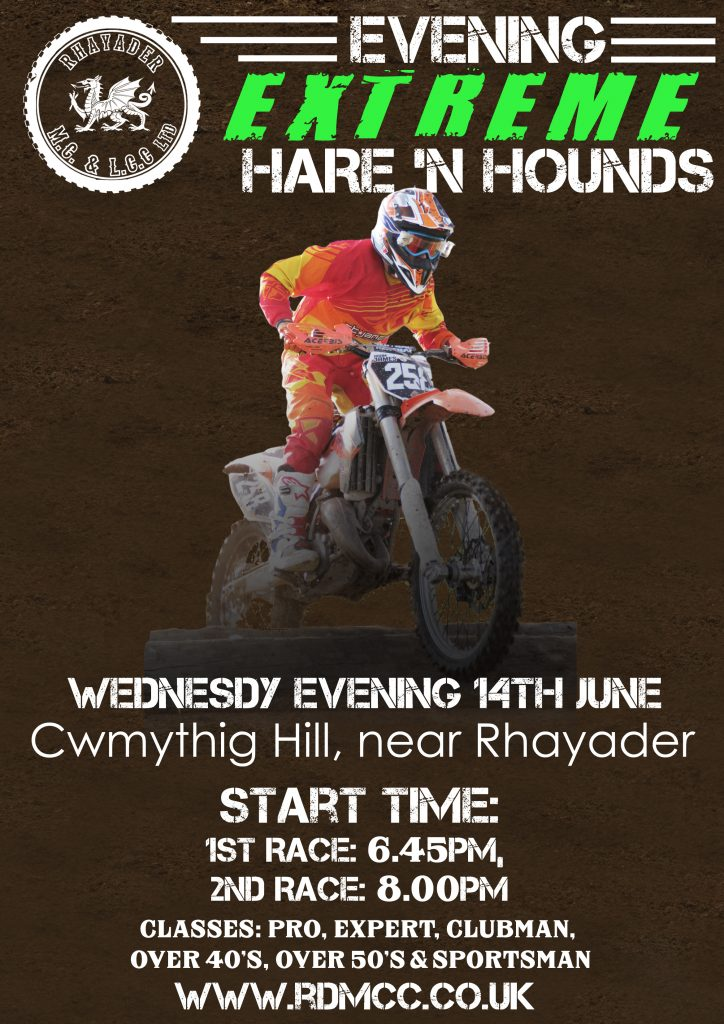 hare n hounds poster june